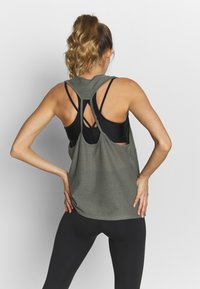 Cotton On Body - MESH TANK - Top - steely shadow - 2
