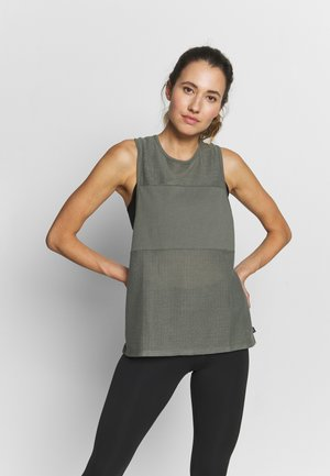 MESH TANK - Topper - steely shadow