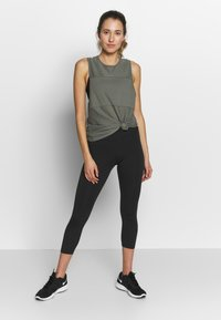 Cotton On Body - MESH TANK - Top - steely shadow - 1