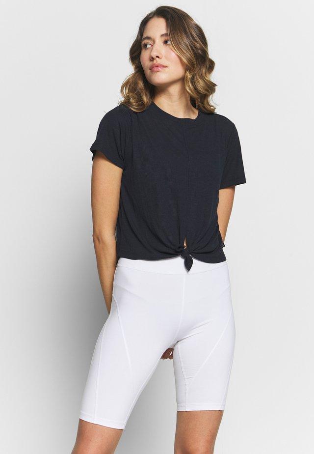 TIE UP  - T-shirt med print - navy