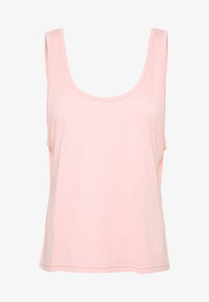 TWIST BACK TANK - Top - cameo pink
