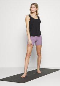 Cotton On Body - TWIST BACK TANK - Topper - black - 1