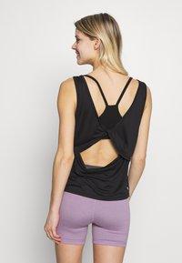Cotton On Body - TWIST BACK TANK - Topper - black - 2