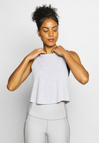 Cotton On Body - CROSS BACK TANK - Toppe - grey marle - 0