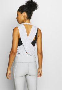 Cotton On Body - CROSS BACK TANK - Toppe - grey marle - 2