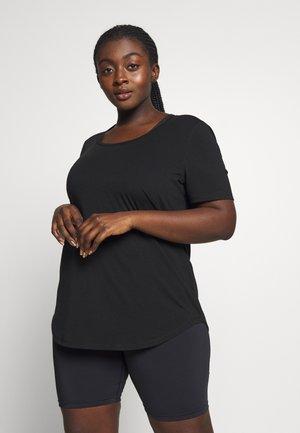 CURVE GYM - T-shirts - black