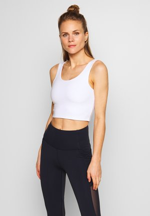 LIFESTYLE SCOOP BACK VESTLETTE - Top - white