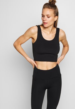LIFESTYLE SCOOP BACK VESTLETTE - Top - black