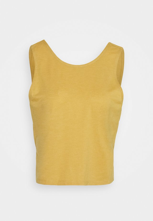 LIFESTYLE TANK - Topper - honey gold marle