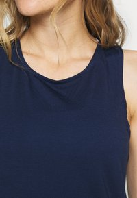 Cotton On Body - TWO IN ONE TWIST TANK - Top - navy/white - 4