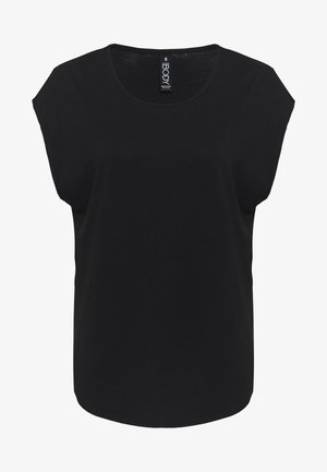 ACTIVE SCOOP HEM - Treningsskjorter - black