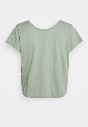 LIFESTYLE TWIST BACK TEE - Print T-shirt - washed aloe