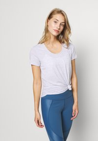 Cotton On Body - GYM 2 PACK - T-shirt - bas - grey marle/white - 3