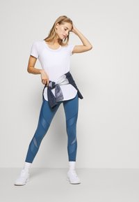 Cotton On Body - GYM 2 PACK - T-shirt - bas - grey marle/white - 1