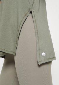 Cotton On Body - LONGLINE SPLIT HEM TANK - Topper - steely shadow - 5