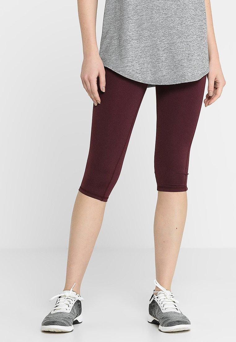 Cotton On Body - SUMMER CORE CAPRI - 3/4 sports trousers - cranberry/meringue