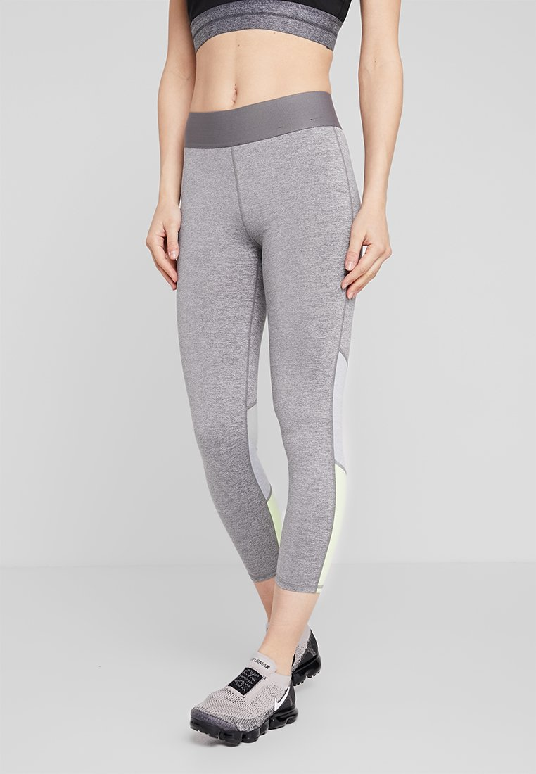 Cotton On Body - SUMMER CORE 7/8 - Leggings - mid grey marle/limelight