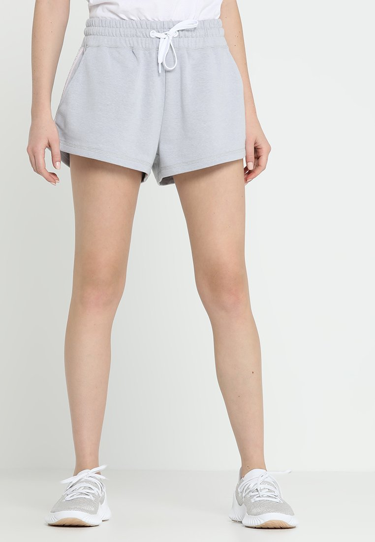 Cotton On Body - SIDE STRIPE SHORT - Träningsshorts - grey marle