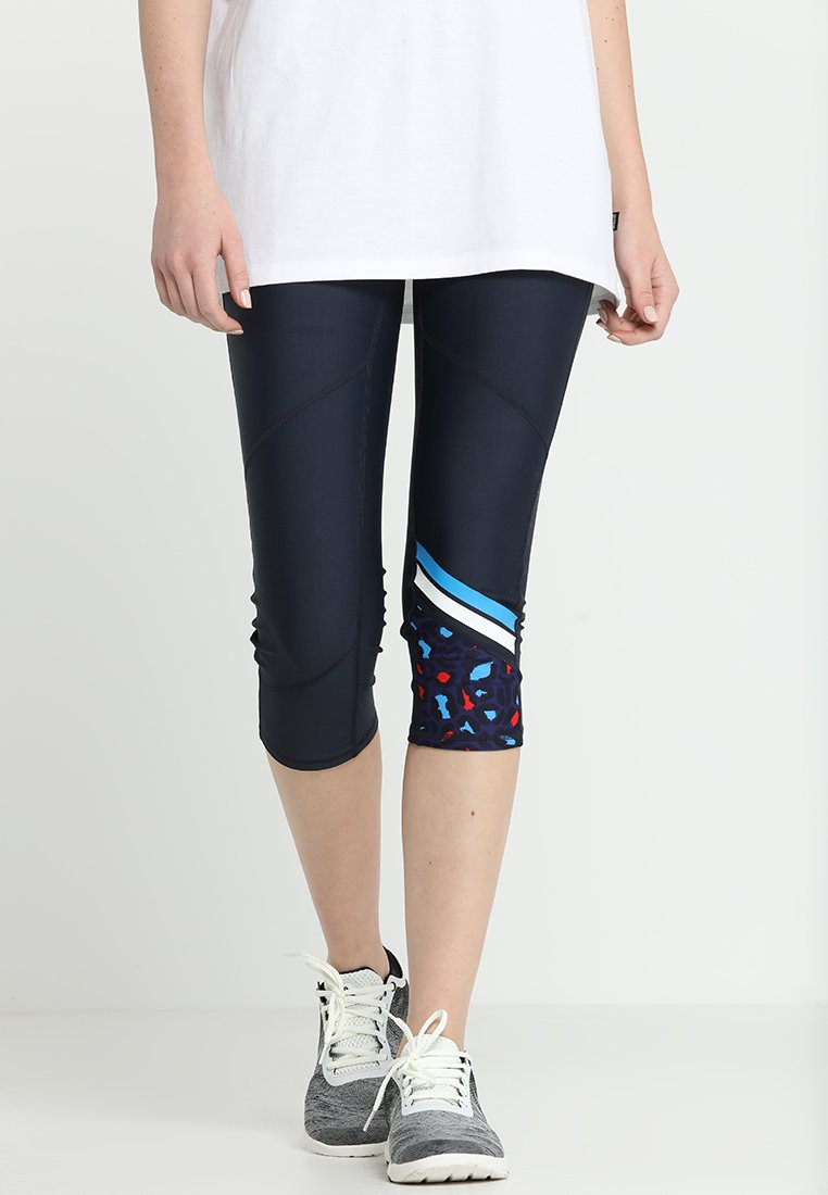 Cotton On Body - PLACEMENT PRINT CROP - Tights - navy