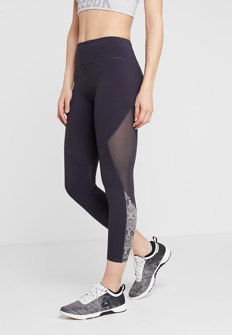 Cotton On Body - MOVEMENT PANELLED - Tights - concrete/mid grey marle