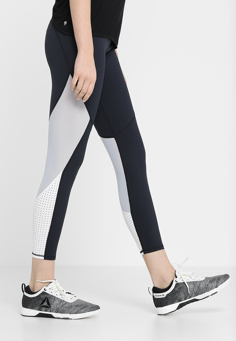 Cotton On Body - MOVEMENT PANELLED - Leggings - navy/white