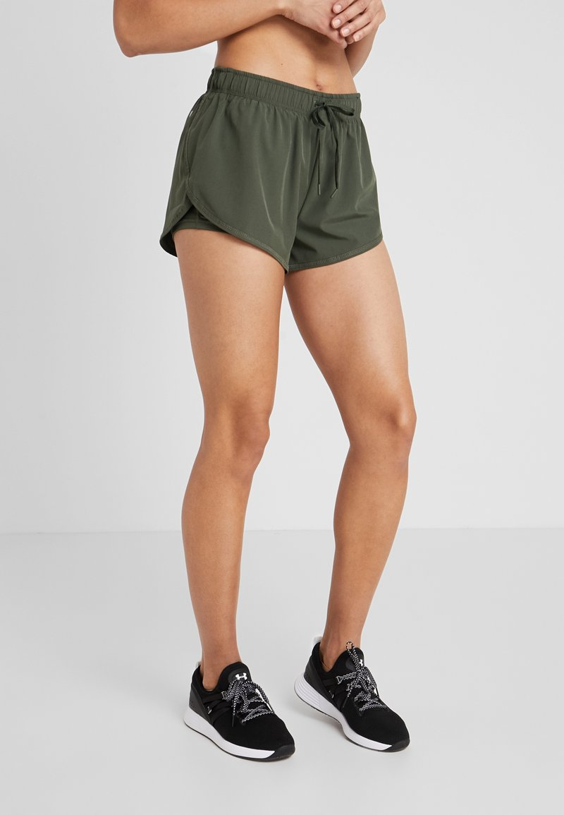 Cotton On Body - MOVE JOGGER SHORT - Korte sportsbukser - khaki