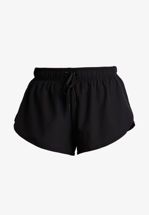 MOVE JOGGER SHORT - Korte broeken - black/ mid grey marl