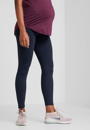 MATERNITY CORE - Leggings - navy