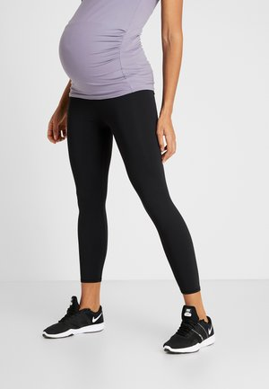 MATERNITY CORE 7/8  - Legginsy - black