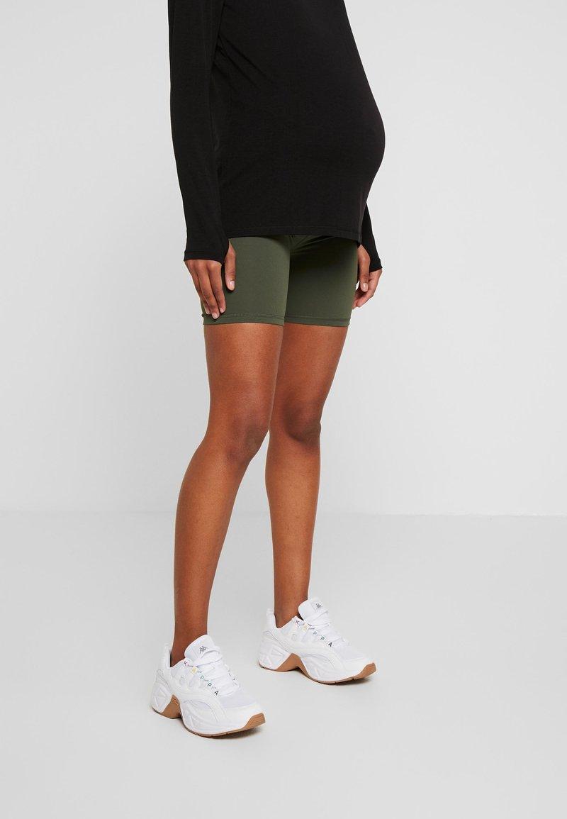 Cotton On Body - MATERNITY BIKE SHORT - Leggings - khaki