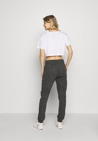 Cotton On Body - GYM TRACKPANT - Spodnie treningowe - charcoal leopard - 2