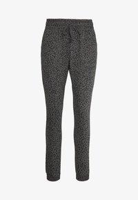 Cotton On Body - GYM TRACKPANT - Spodnie treningowe - charcoal leopard - 4