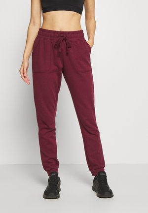 GYM TRACKPANT - Tracksuit bottoms - mulberry
