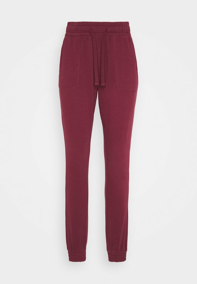 GYM TRACKPANT - Joggebukse - mulberry