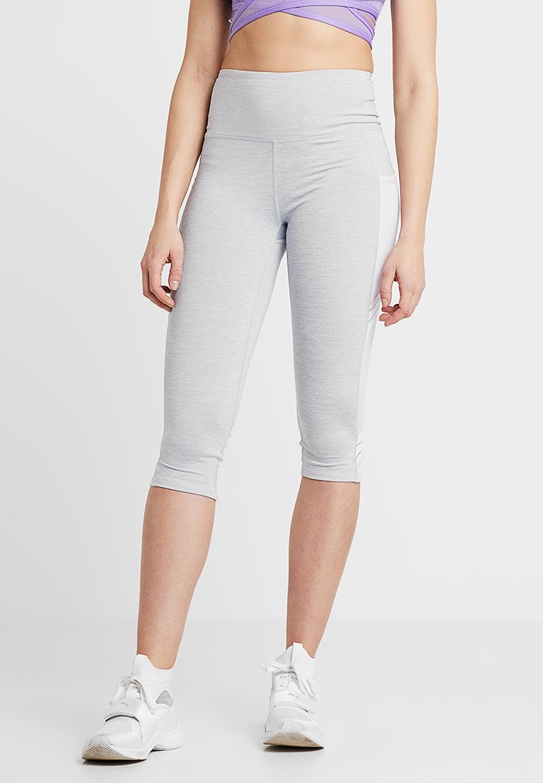 Cotton On Body - FILAMENT CAPRI - Pantaloncini 3/4 - grey marle/icy lilac