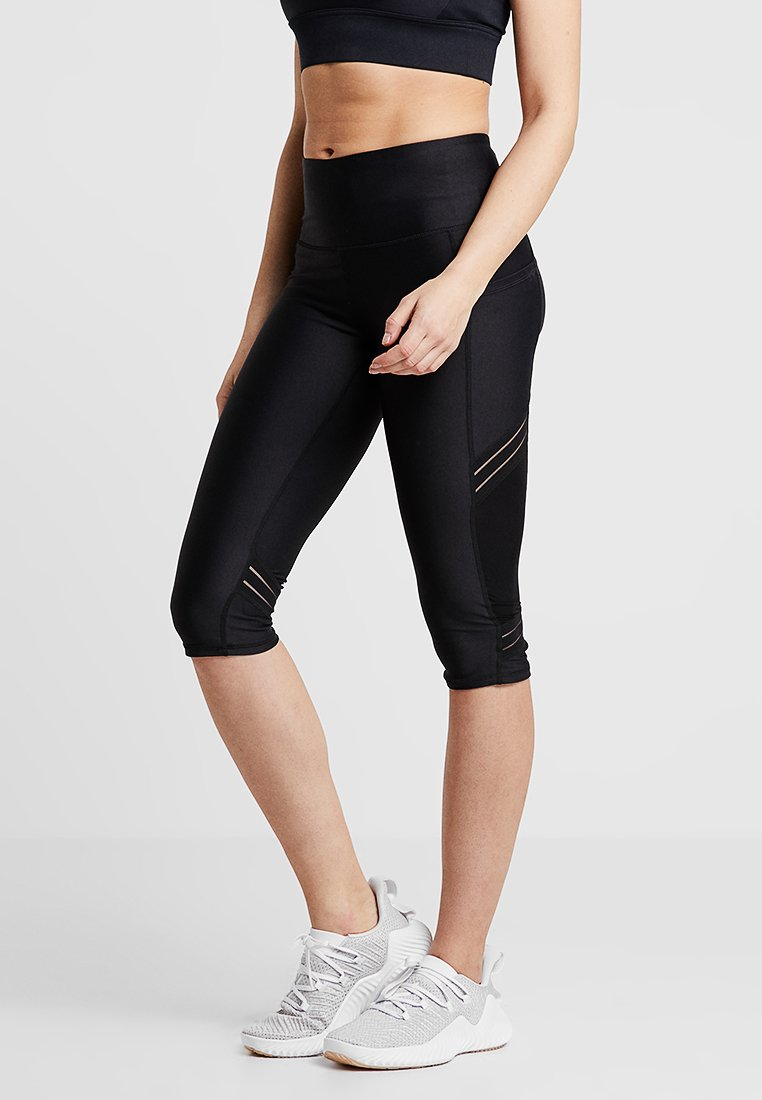 Cotton On Body - FILAMENT CAPRI - 3/4 sports trousers - black