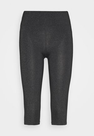 ACTIVE CORE CAPRI - 3/4 sports trousers - charcoal marle