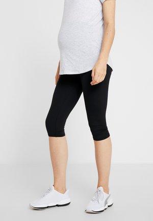 MATERNITY CORE CAPRI - 3/4 sportovní kalhoty - black