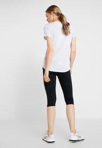 Cotton On Body - MATERNITY CORE CAPRI - 3/4 sportovní kalhoty - black - 2
