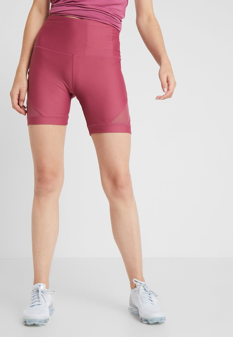 Cotton On Body - PANEL BIKE SHORT - Tights - rose sangria