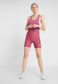 Cotton On Body - PANEL BIKE SHORT - Tights - rose sangria - 1
