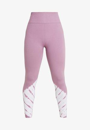 SEAMFREE - Leggings - mauve tie dye