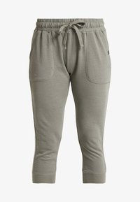 Cotton On Body - CROPPED GYM TRACKPANT - Pantalón 3/4 de deporte - steely shadow - 4