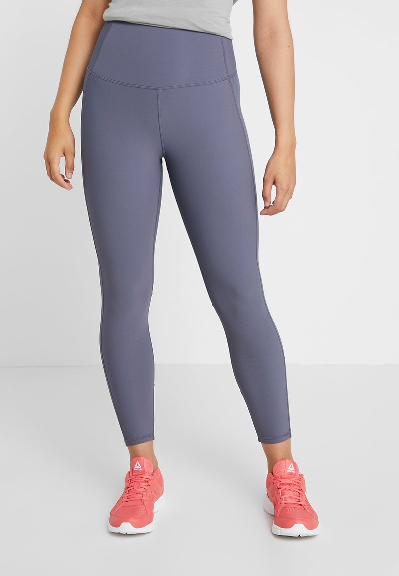 Cotton On Body - PANELLED - Tights - storm blue