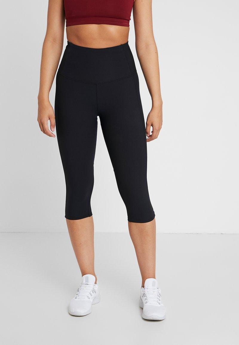 Cotton On Body - PANELLED CAPRI - Tights - black