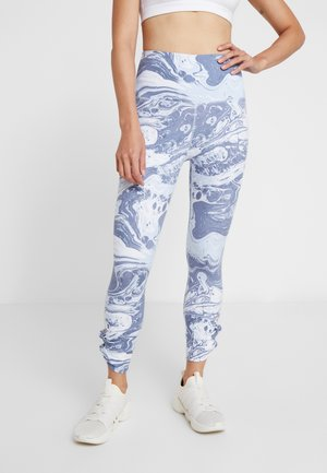 KNOT HEM - Tights - baby blue
