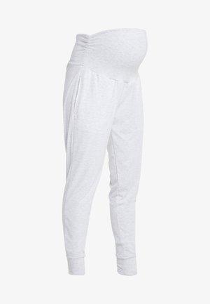 DROP CROTCH STUDIO PANT - Pantalones deportivos - grey marle