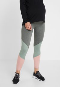 Cotton On Body - MATERNITY SO SOFT  - Leggings - khaki marle - 0
