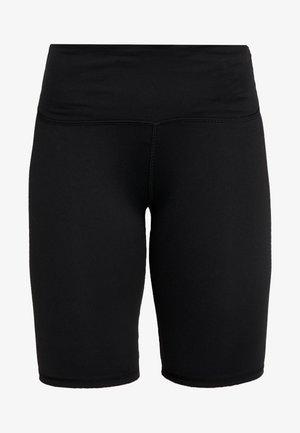 HIGHWAISTED MID LENGTH BIKE SHORT - Collants - black