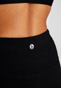 Cotton On Body - HIGHWAISTED MID LENGTH BIKE SHORT - Medias - black - 4